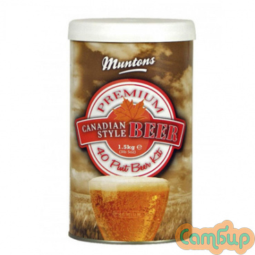 MUNTONS Canadian Style Beer