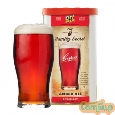 COOPERS  1,7 кг Family Secret Amber Ale (Темный Эль)