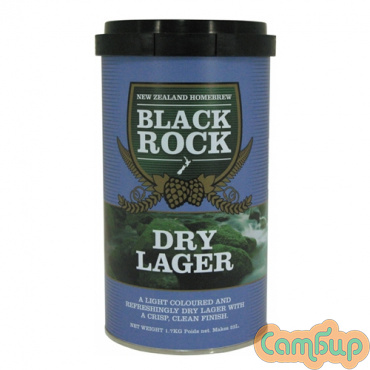 Black Rock Dry Lager-(Сухой Лагер)