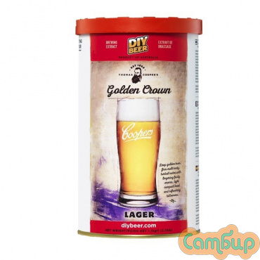 COOPERS  1,7 кг Golden Crown Lager (Лагер)
